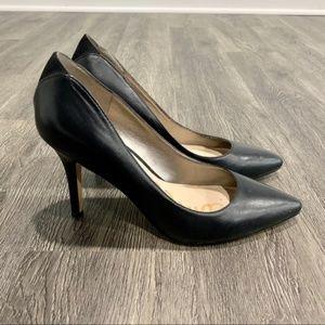 Sam Edelman Black Zola Pointy Pumps Heels Size 8.5